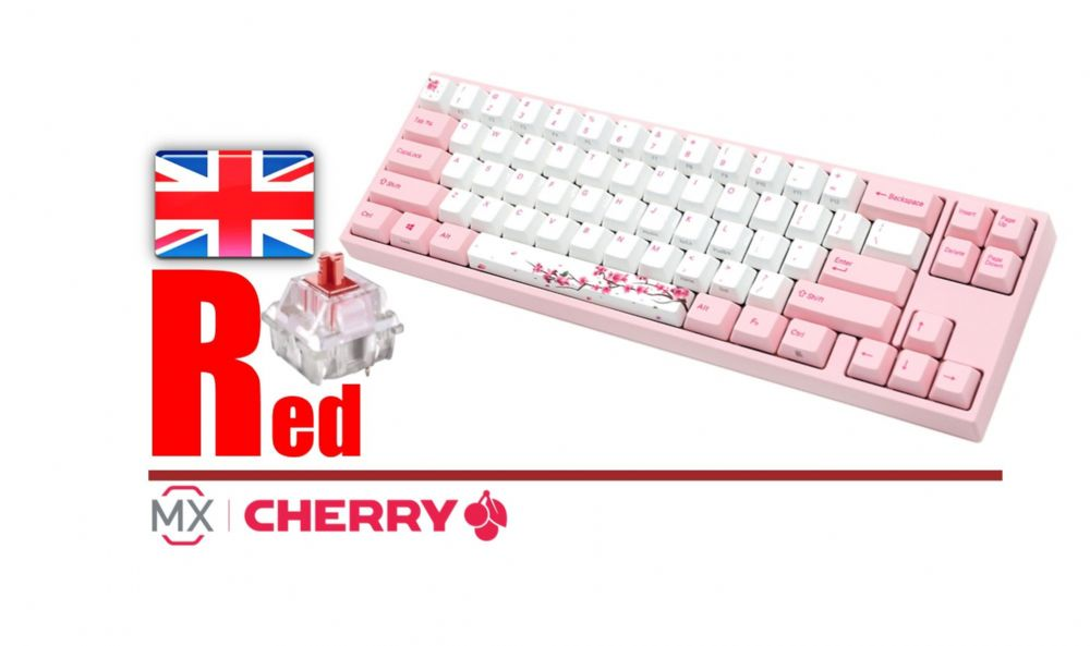 Ducky Channel Varmilo MIYA Pro Sakura Edition MY69NR1P/DP88U
